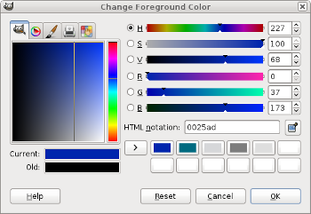 Picking the second hue value