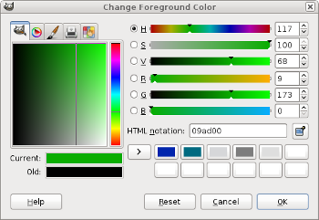 Picking the first hue value
