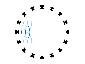 loudspeaker circle