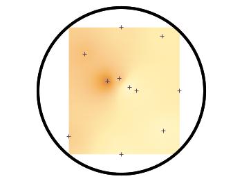 circular heat map