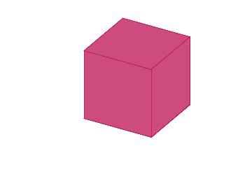A single cube